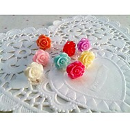 Roses Anti-dust Earphone Jack for iPhone/iPad and Others(Random Color)