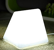 5W LED Triangle White Light Energy Saving Plug-in Small Night Table Lamp 220V