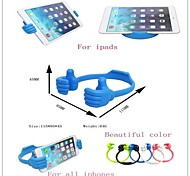 Creative Mini Mobile Phone Stand Thumb Support Holder Bracket for iPhone/iPad and Others (Assorted Colors)