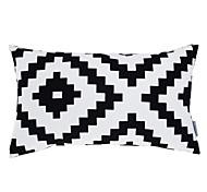"""12x20 moderna """"rec fronha geométrica / travesseiro com inserção"""