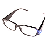 [Free Lenses] Lamp Plastic Rectangle Full-Rim Classic Reading Eyeglasses