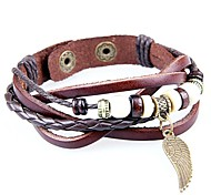 Bracelet/Bracelets de rive / Bracelets de tennis / Bracelets d'amitié / Bracelets Wrap / Bracelets Vintage / Bracelets en cuirAlliage /