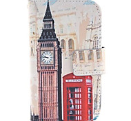 Big Ben and Red gate Design PU Leather Full Body Protective Case with Stand for Samsung Galaxy S3 Mini I8190