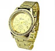 Women's Diamond Fashion Round Dial Alloy Band Quartz Bracelet Watch (Assorted Colors) Cool Watches Unique Watches
