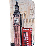 Big Ben and Red Gate Design PU Leather Full Body Protective Case with Stand for Samsung Galaxy S4 Mini I9190