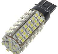 t20 5w 460lm 6500K 102-SMD LED weißes Licht Auto Bremse / Rückwärts-Signallampen (weiß)