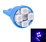 GC® T10 4W 120LM 4×3528 SMD LED Blue Light for Car Instrument Light / Door / Trunk Lamps (DC 12V)