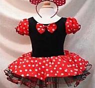 Sweet Mouse Princess Kids' Halloween 3 Layered Bubble Dress