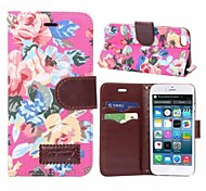 Flower Pattern Holster Cases for iPhone 6 Plus (Assorted Colors)