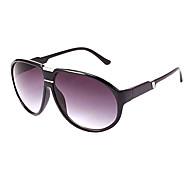 Retro 100% UV400 gafas de sol de plástico de gran tamaño