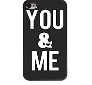 You & Me Design  Aluminum Case for iPhone 4/4S