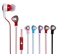 BEBONCOOL™  Universal Earphone  for Iphone/HTC/Samsung/Huawei , Headphone  with  Mic and Volume Control(Mixed Colors)