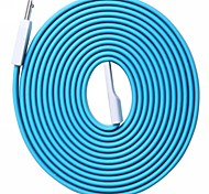 6.6FT Blue Mundus CD70 Mirco USB Data Transmit and Charging Cable for Samsung /HTC and other Micro USB Port Devices