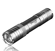TanLu TL-S1 Rechargeable 3-Mode 1x Cree Q5 Zoom LED Flashlight(250LM, 1x18650, Black)