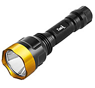 TanLu C8 Rechargeable 5-Mode 1x Cree Q5 LED Flashlight(250LM, 1x18650, Assorted Colors)