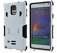 Super Armor Protective Jacket with Stand for Samsung Galaxy  Note 4 (Assorted Colors)