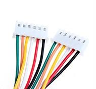 DIY XH2.54 - 6P 20cm Wire Cable (2pcs)