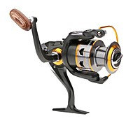 Carrete de la pesca Carretes para pesca spinning 5.2:1 11 Rodamientos de bolas Intercambiable Pesca de agua dulce - DK5000
