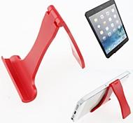 tragbare Klappständer Halter für iphone / ipad mini / Galaxieanmerkung und andere (gelegentliche Farbe)