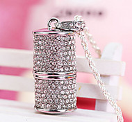 Amotaios AMO-UF124(32G) 32GB USB 2.0 Flash Pen Drive Necklace/Crystal