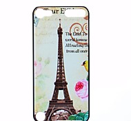 Tower Flower Pattern PC Hard Back Cover Case for iTouch 5