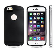 2-in-1 TPU Rubber & Plastic Protective Case for iPhone 6 (Assorted Colors)