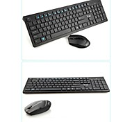 DANLU X100 Wireless 2.4GHz Keyboard & Mouse Combos Mini/Gaming 1600 Mini/Chiclet Keys/Gaming Laptop/Desktop