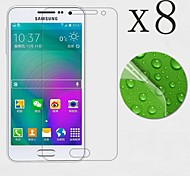 [8-Pack] High Transparency LCD Crystal Clear Screen Protector with Cleaning Cloth for Samsung galaxy A5