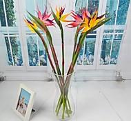 Plastic / PU Strelitzia Artificial Flowers