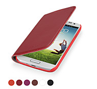 GGMM® Kiss-S4 Genuine Leather Cover Protective Case  for Samsung Galaxy S4