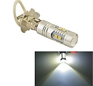 Carking™ Car Auto H3 50W 10SMD LED Fog Light Head Lamp Driving Bulb-White(12V 1PC)