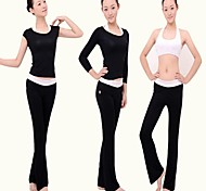 New Arrival Supper Soft Cotton Yoga Suits 3pc with Pants