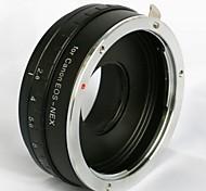 apertura ajustable canon eos lentes EF para Sony NEX-3 NEX-5 NEX-7 e adaptador de montaje