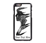 Personalized Phone Case - The Women Face Design Metal Case for iPhone 6
