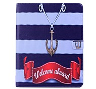 Hook Pattern PU Wallet Leather Case with Stand for iPad 2/3/4