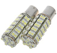 1156 3.5W 68 SMD LED 310 lúmenes freno 6500k / bombillas blancas de copia de seguridad (blanco)