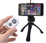 fotocamera bluetooth autoscatto comando di scatto a distanza + supporto + mini treppiede per iPhone e Android (colori assortiti)