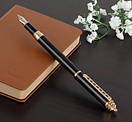 0.5mm Black School and Business Fine Writing Fountain Pen