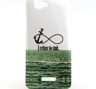 Sea Anchor Pattern TPU Soft Back Cover for Wiko RAINBOW