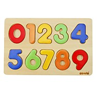 BENHO Plywood Puzzle Wooden Education Baby Toy