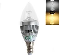 Zweihnder E14 5W 450LM 5500-6000/3000-3500K 15x2835 SMD LEDs White Light Warm White Candle Light Bulb (AC 220-240V)