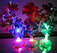Colour Long Fiber Optic Flower Clivia Vase LED Night Light