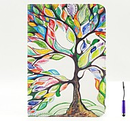 The Tree of Life Pattern PU Leather Case Cover with A Touch Pen ,Stand and Card Holder for iPad mini 1/2/3