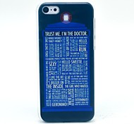 Trust Me Pattern Hard Cover Case for iPhone 5C