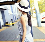 Women's Vintage/Casual Leisure Summer Straw Fedora Hat