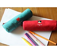 Forest Series Canvas Pencil-Box Pen Bag(Random color)