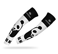 WEST BIKING® Cycling Waterproof Breathable Wicking UV Protection Quick Dry Polyester Panda Cycling Armsleeve