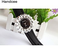 Handcee® Women's Fashion Watch Rhinestone Decoration Popular Lady Watch