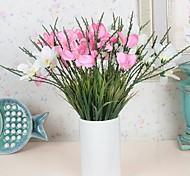 Fashion High Quality Pearl Orchid Silk Cloth Simulation Flowers