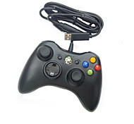 controller USB wired per pc& xbox 360 (nero-bianco)